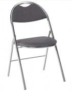 Chaise pliante en tissu anti-feu