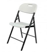 Chaise pliante polyéthylène - Hauteur (mm) : 880