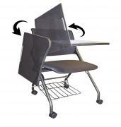 Chaise polyvalente 3 en 1 - Chaise multimédia ( pliable et rabattable )