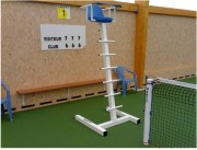 Chaise pour arbitre de tennis - Socle en H très stable
