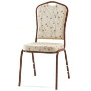 Chaise rembourré en tissu pour conférence