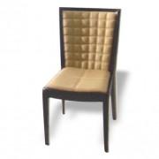 Chaise rembourrée en bois - Structure en bois