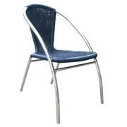 Chaise restaurant aluminium
