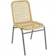 Chaise restaurant aluminium DRISSE - Usage : Extérieur - Structure : aluminium- Dimensions L x p x h : 46 x 61 x 80 cm