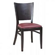 Chaise restaurant en bois - Dimensions (l x p x h) :43 * 51 * 48 cm