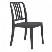 Chaise restaurant en polypropylène - Hauteur : 87 cm - Profondeur : 52 cm