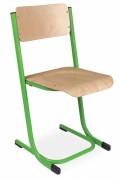 Chaise scolaire appui sur table - Conforme EN 1729-1 - Tailles 4 à 7