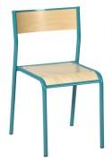 Chaise scolaire de classe - Structure tube