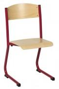 Chaise scolaire en structure monobloc - Multiplis