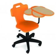 Chaise scolaire multifonction - Chaise avec plan de travail qui se translate et assise polyvalente