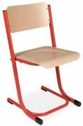 Chaise scolaire réglable appui sur table