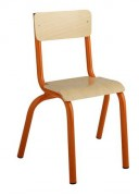 Chaise scolaire structure monobloc T1 à T4