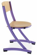 Chaise scolaire bois taille 3 ou 6
