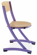Chaise scolaire bois taille 3 ou 6 - Hauteurs d'assise : 35 et 46 cm