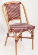 Chaise terrasse brasserie - Dimensions (lxpxh) en cm : 83x38x45