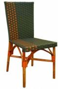 Chaise terrasse café - Dimensions (lxpxh) en cm :85x38x45