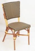 Chaise terrasse restaurant - Dimensions (lxpxh) en cm : 45x38x85