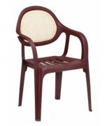 Chaise terrasse restaurant en plastique - Dimensions (L x P x H) cm : 60 x 63 x 90