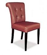 Chaise tissu rembourrée