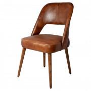 Chaises en cuir - Chaises en cuir 100% véritable