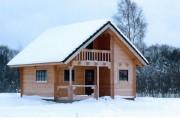Chalet bois massif - Kit madrier massif de 60 M²