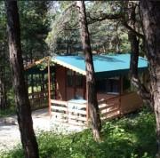 Chalet camping démontable - Résistance 500 Kg/m²