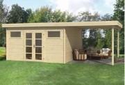 Chalet de jardin avec terrasse - Chalet de 17m² plus sa terrasse de 270 cm
