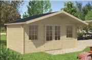 Chalet de jardin en bois sapin - Chalet de 16 m²
