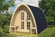 Chalet en bois de sapin - Surface : De 0 à 10 m2