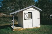 Chalet jardin - Longueur hors tout : 2.03 - 3.03 - 4.03 m - Largeur hors tout : 3.03 m