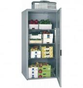 Chambre de stockage réfrigérée démontable - Capacité : 1,50 m3 - Froid positif  +2° à +8°C - Dotation : 3 niveaux / Grilles inox