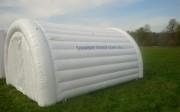 Chambre froide gonflable mobile - Modèle : Moyen - Dimensions externes gonflée (L x P x H) m : 4,8 x 4,3 x 2,60