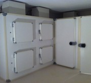 Chambre froide monobloc au sol - Séchage de charcuterie