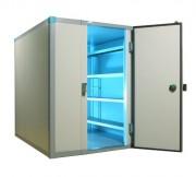 Chambre froide positive 2.81 m³ - Dimensions extérieures (L x P) cm : De 135 x 135 à 215 x 375