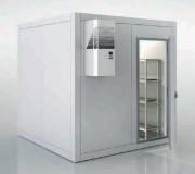 Chambre froide professionnelle avec sol - Hauteur extérieure (en mm): 2000 à 2400 - Intérieur (en mm): 1830 à 2230