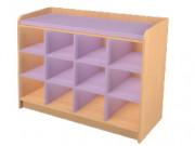 Change sec 12 casiers crèche - Dimension : L 1295 mm x H 1000 mm x P 800 mm