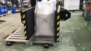 Changeur de palettes 1200 kg - Transvaser les charges d'une palette à l'autre jusqu'à 1200 kg
