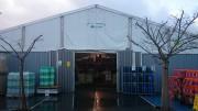 Chapiteau industriel modulable - Largeur de 5m à 20m - longueur par multiple de 5m