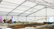 Chapiteau protection chantier - Modulaire, temporaire et flexible.