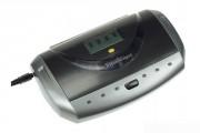 Chargeur 4 accus - Chargeur 4 accus LR03/LR06/LR14/LR20 NiMH/NiCd + Ecran LCD