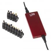 Chargeur extra plat universel pour pc portable - Avec 6 ou 12 connecteurs de sortie