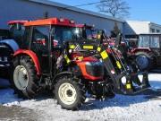 Chargeur frontal tracteur - Force de levage maximum (Kg) : de 1300 à 2800