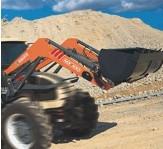 Chargeur pour tracteur de collectivité - Chargeur de collectivité