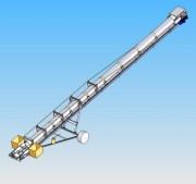 Chargeurs de bateaux - 600 m3/h avec convoyeurs de 22 à 34 m