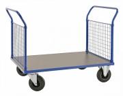 Chariot 2 dossiers grillagés - Capacité : 500 Kg - Dossiers en maillage