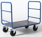 Chariot 2 dossiers tubulaires - Dimensions L x l (en mm):1300 x 676