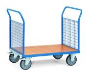 Chariot 2 ridelles en treillis métallique