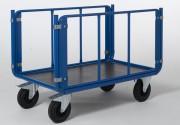 Chariot à 2 ridelles tubulaires - Charge en Kg: 500