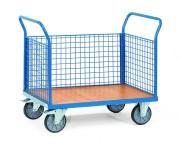 Chariot à 3 ridelles acier - Charge (kg) : 500 - 600 / Norme Européenne 1757-3