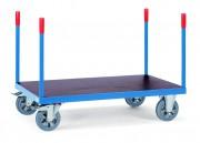 Chariot à 4 barres de poussée - Charge (kg) : 1200 - Norme EN 1757-3